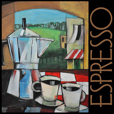 Espresso Poster Painting by Tim Nyberg