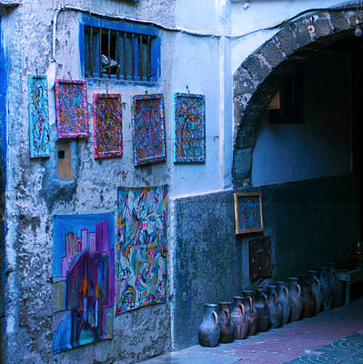 Photograph - Essaouira Blue Moroccan by Paula St James