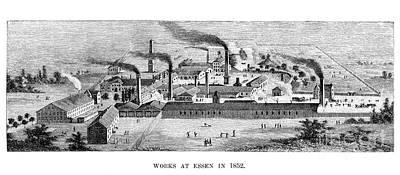Essen: Krupp Works, 1852 Art Print