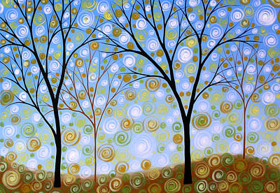 Essence Of The Day Art Print by Amy Giacomelli