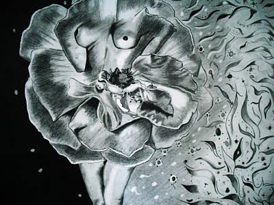 Essence Art Print by Saheed Fawehinmi