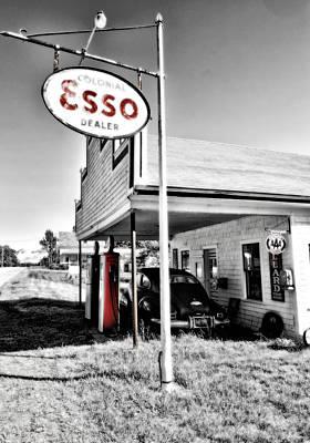Esso Express Art Print
