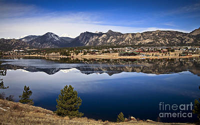 Photograph - Estes Park Co. by Royce  Gideon