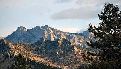 Photograph - Estes View by Amee Cave