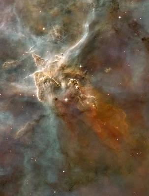 Eta Carinae Nebula, Hst Image Art Print