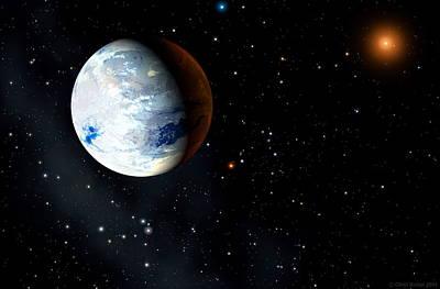 Eta Cassiopeiae Planet Art Print
