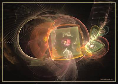Digital Art - Eternal Blossom by Sipo Liimatainen