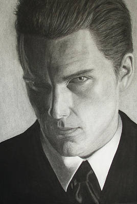 Drawing - Ethan Hawke by Tania Kelvin