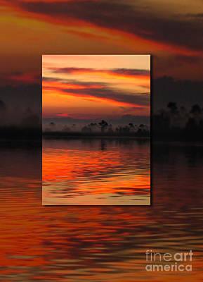 Ethereal Sunrise In Sunrise Art Print by Judee Stalmack