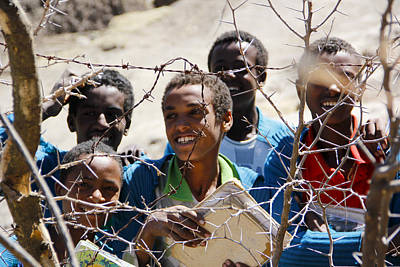Painting - Ethiopia Barbed-wire Bliss by Robert SORENSEN