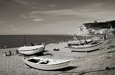 Photograph - Etretat Beach by RicardMN Photography