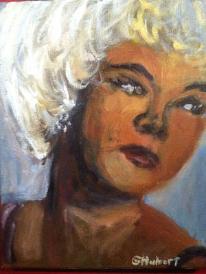 Etta James Painting - Etta James by Gerald Hubert