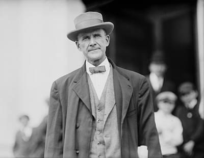 Eugene Debs 1855-1926 In 1912. He Art Print by Everett