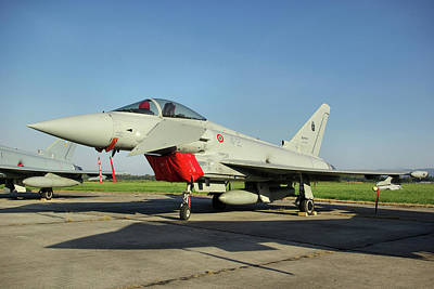 Photograph - Eurofighter Ef2000 Typhoon by Tim Beach