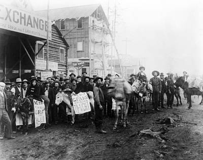 Ev1801-gold Rush Town, Dawson City Art Print