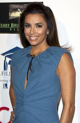 Eva Longoria At Arrivals Art Print