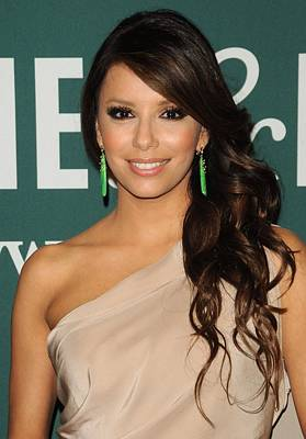 Eva Longoria At In-store Appearance Art Print