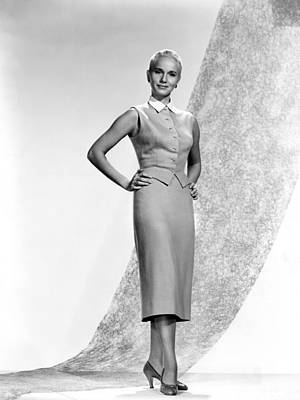 1950s Fashion Photograph - Eva Marie Saint, 1956 by Everett