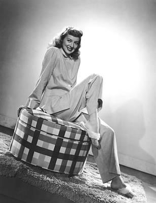Char-proj Photograph - Evelyn Keyes, Mid-1940s by Everett