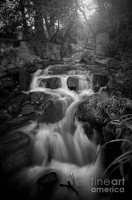 Photograph - Even Flow 4.1 Bw by Yhun Suarez