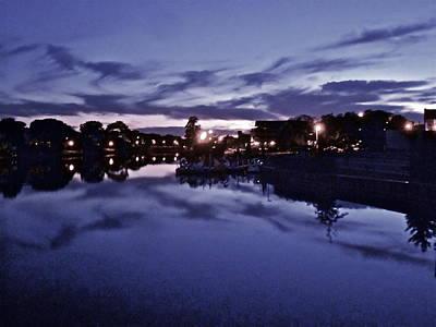 Photograph - Evening Blues by Joe  Burns