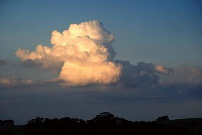 Photograph - Evening Clouds 2 by Fran Woods