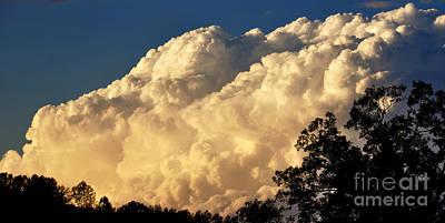 Evening Clouds Art Print by Thomas R Fletcher