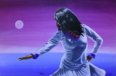 Evening Dance Art Print by Jerry Frech