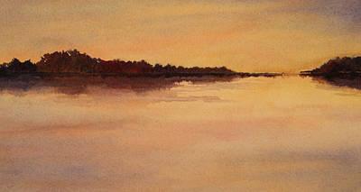 Evening Glow Art Print by Vikki Bouffard