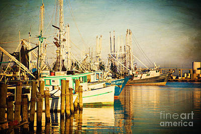 Evening Harbor Art Print