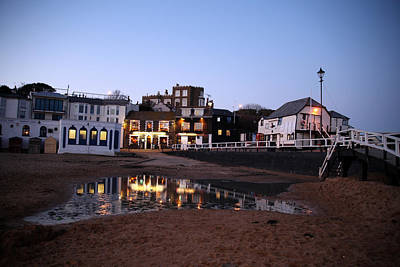 Evening In Broadstairs Art Print by Jez C Self