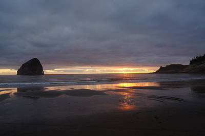 Photograph - Evening In Pacific City by Angi Parks