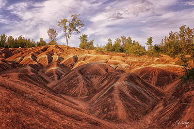 Cheltenham Photograph - Evening In The Badlands by Phill Doherty
