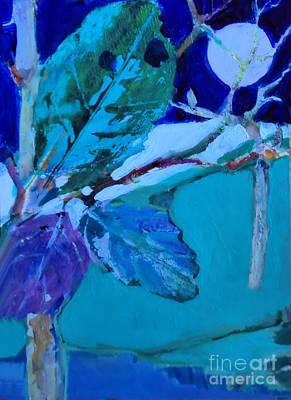 Painting - Evening Landscape by Diane Ursin