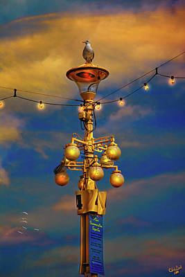 Photograph - Evening On The Seafront In Eastbourne by Chris Lord