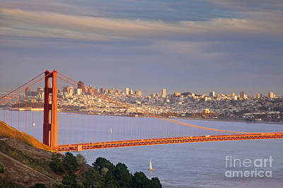 Photograph - Evening Over San Francisco by Brian Jannsen
