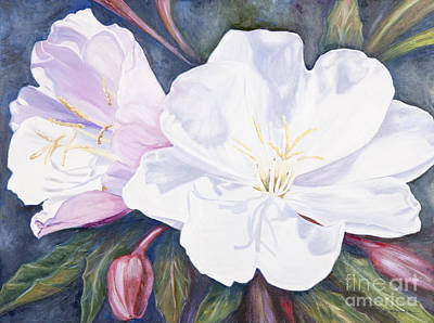 Painting - Evening Primrose by Patricia Baehr-Ross