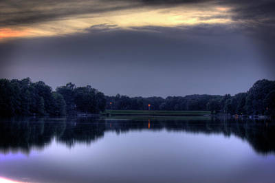 Photograph - Evening Reflections by Barry Jones