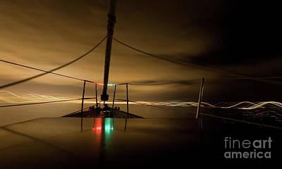 Evening Sail Art Print by Matt Tilghman