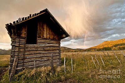 Abandon Photograph - Evening Storm by Jeff Kolker
