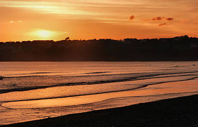 Photograph - Evening Sun At Tramore by Debra Collins