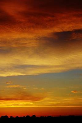 Photograph - Evening Sunset by Bruce Bley