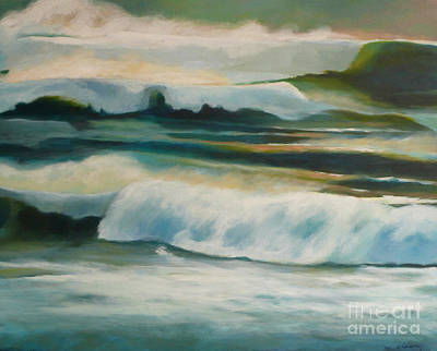 Painting - Evening Tides by Melody Cleary