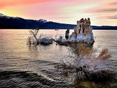 Photograph - Evening Tufa Five by Endre Balogh