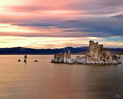 Photograph - Evening Tufa Four by Endre Balogh