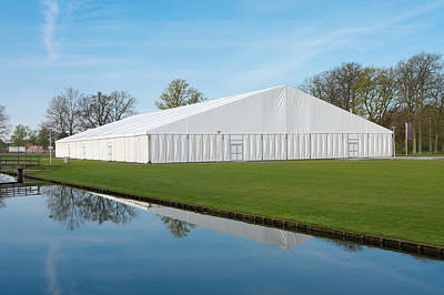 Art Print featuring the photograph Event Tent by Hans Engbers