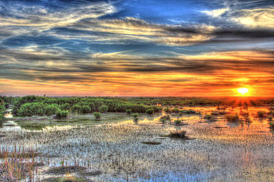 Photograph - Everglades Sunset by Sean Allen