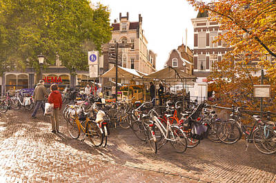 Briex Photograph - Every Dutch Has A Bike by Nop Briex