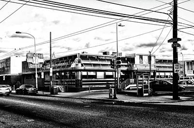 Everybody Goes To Melrose - The Melrose Diner - Philadelphia Art Print by Bill Cannon