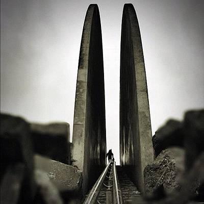 Rock Wall Art - Photograph - everyone She Plays With Dies. #art by Robbert Ter Weijden